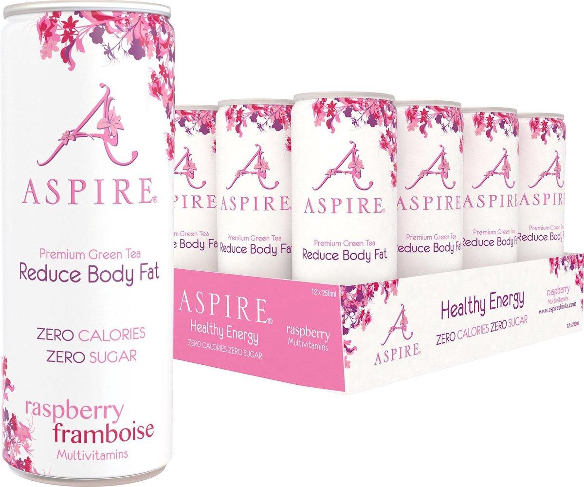 Aspire Drinks - Framboos - 12 x 250ml