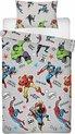 Avengers dekbedovertrek - 1 persoons - Marvel Avenger dekbed - 135 x 200 cm