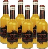 6 x Mocktail Alcoholvrije Cocktail Old Passioned Sparkling - 27,5 cl