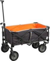Outdoor Bolderwagen Grijs/Oranje