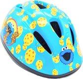 Fietshelm Kind - Koekiemonster Helm - Verstelbare Kinderhelm (48-53 cm) - 2 tot 5 jaar - Blauw