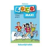 Loco Maxi - Rekentijd tafels Rekentijd, Tafels groep 4