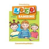 Boek cover Bambino Loco 1 Concentratiespelletjes van M. Junga
