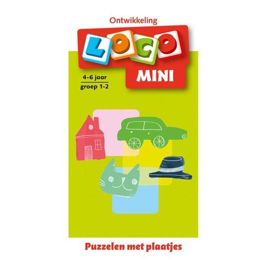 Loco Mini Puzzelen met plaatjes 4-6 jaar groep 1-2 - none |