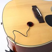 Piezo Contact Microfoon Pickup met Klem Gitaar Viool Banjo