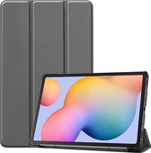 Tablet2you - Smart cover - Hoes - voor Samsung Galaxy Tab S6 Lite - 2020 - P610 - P615 - Grijs