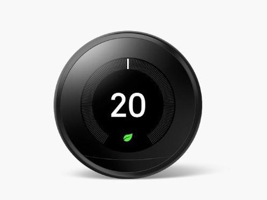Learning Thermostat - Slimme thermostaat - Zwart