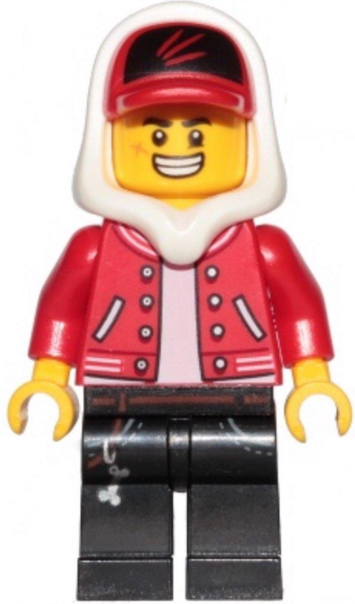 LEGO Hidden Side Jack Davids minifiguur HS001