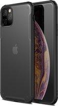 Krasbestendige TPU + acryl beschermhoes voor iPhone 11 Pro (zwart)