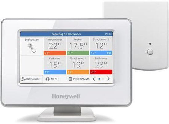 Honeywell Evohome Modulerende Slimme Thermostaat - Wifi - Single zone
