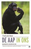 Boek cover De aap in ons van Waal, Frans de