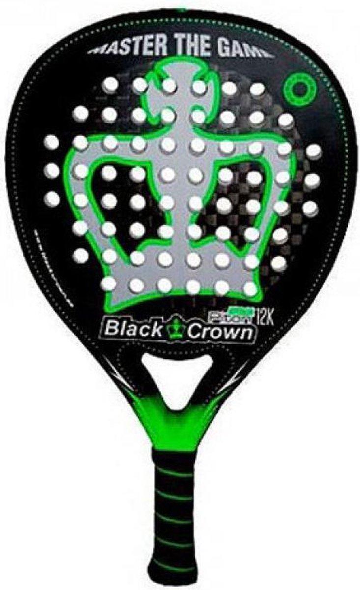 Black Crown Piton Attack 12K padel racket