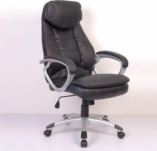 vidaXL - Manager R118 - Bureaustoel - Zwart