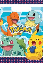 Pokémon Uitdeelzakjes 23,4cm 8st