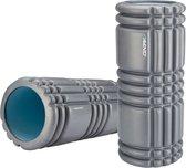 Avento Massage Roller Foam - Profiel - Antraciet/Lichtblauw