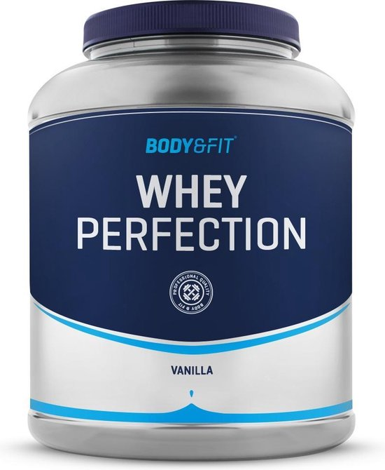 Body & Fit Whey Perfection - Whey Protein / Proteine Shake - 2270 gram - Cookies and Cream