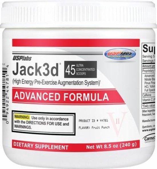 bol.com | Usp labs Jack3d Advanced - 45