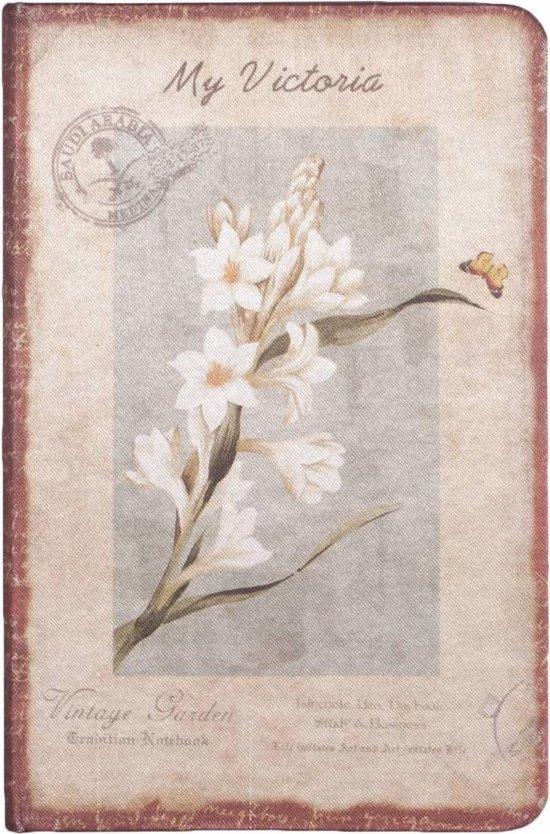 D8025-4 Dreamnotes notitieboek mijn Victoria: witte orchidee 9 x 14 cm