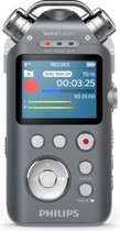 Philips Voice Tracer Audio recorder Intern geheugen & flash-kaart Antraciet, Chroom dictaphone