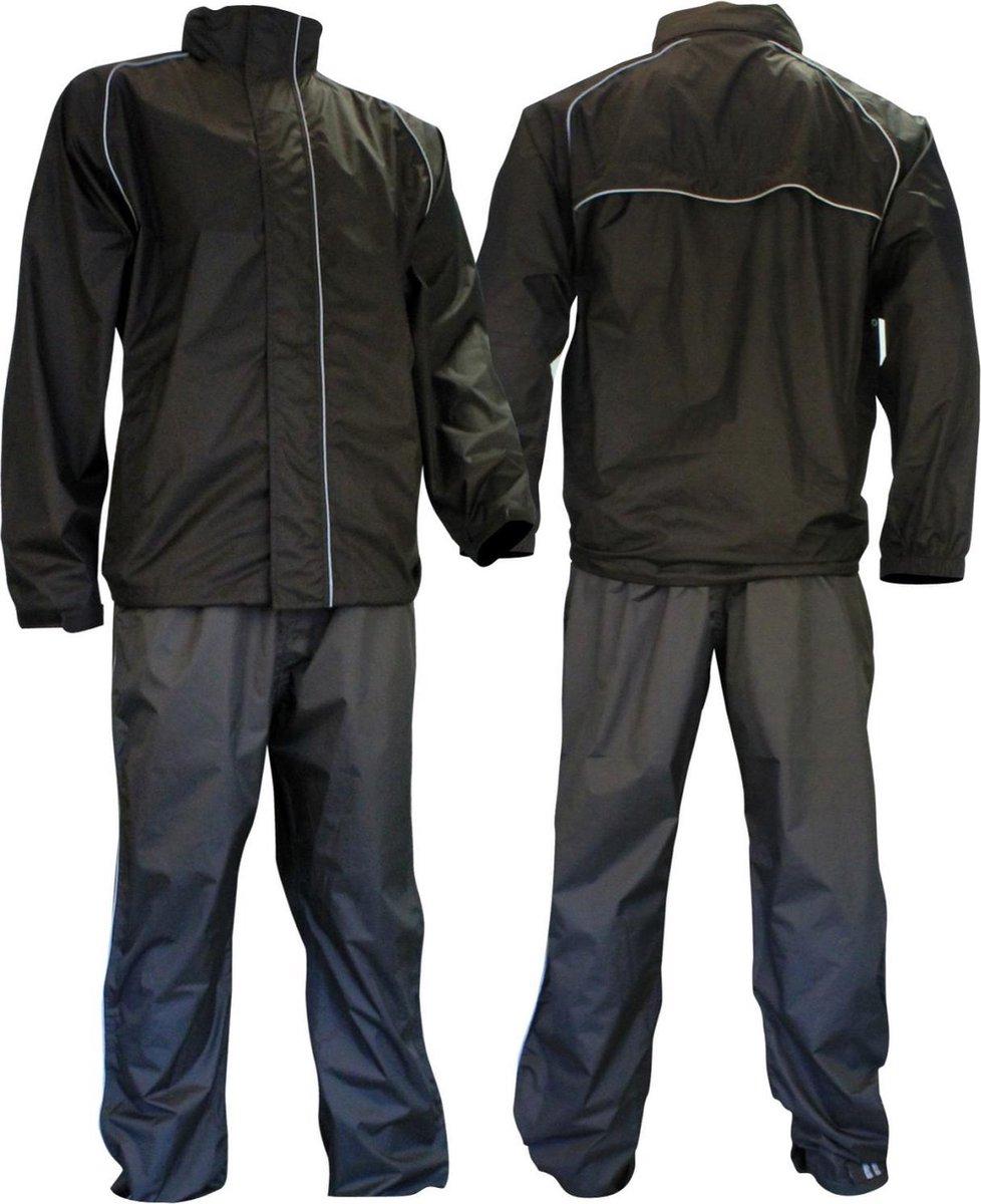 Ralka Comfort Regenpak - Volwassenen - Unisex - Maat XXL - Zwart