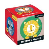 Mudpuppy |  Mini Memory Spel  -  Geometric Animals