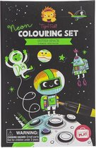 Tiger Tribe Neon Colouring Sets/Outer Space