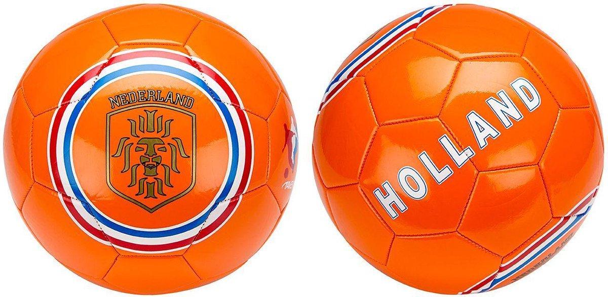 Avento Voetbal Glossy - Euro Triumph - Oranje/Rood/Wit/Blauw - 5