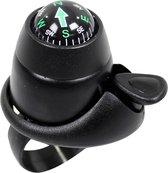Widek - Fietsbel - Mini - met Kompas - Zwart