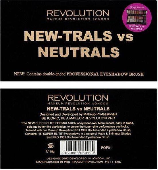 Makeup Revolution New-Trals vs Neutrals Palette - Makeup Revolution