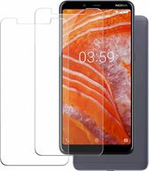 Ntech 2 Pack Nokia 8.1 Screenprotector 0.3mm  HD clarity Hardness Tempered Glass