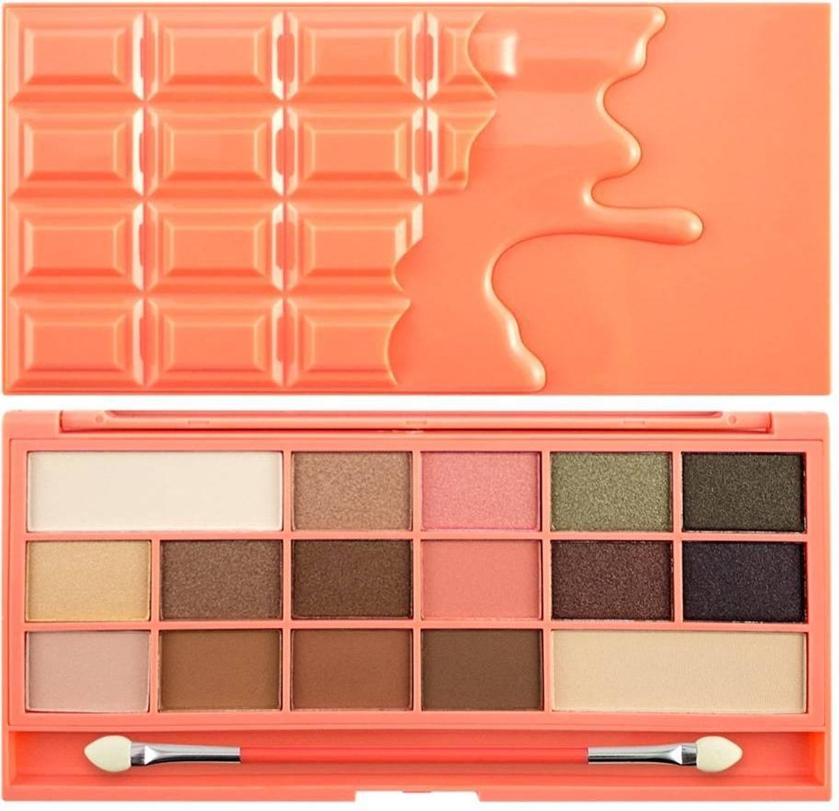 I Heart Revolution I Heart Chocolate & Peaches Palette - I Heart Revolution