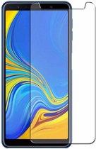 Samsung Galaxy A7 (2018) Tempered glass /Beschermglas Screenprotector