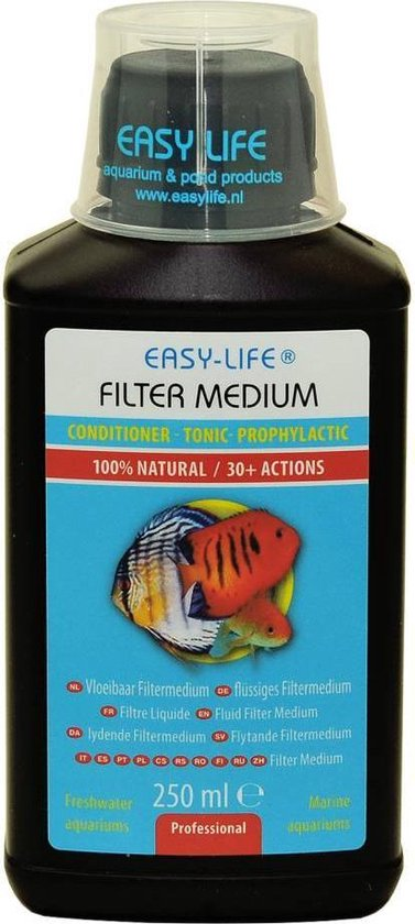 Easy life vloeibaar filter medium - 1 st à 500 ml