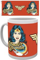 DC Comics Wonder Woman Face Mok