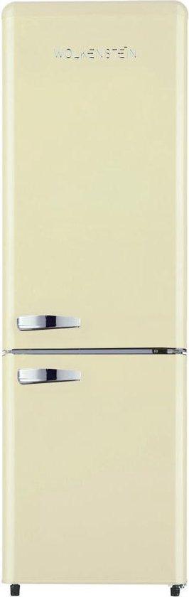 Koelkast: Wolkenstein KG 250.4 RT B - Retro koel-vriescombinatie - Creme, van het merk Wolkenstein