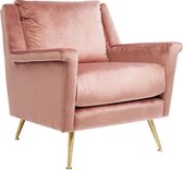 Kare Fauteuil San Diego Rose