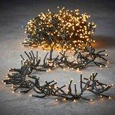Luca Lighting kerstverlichting lichtsnoer - buiten - 1152 lampjes warm wit - flashfunctie - 800 cm