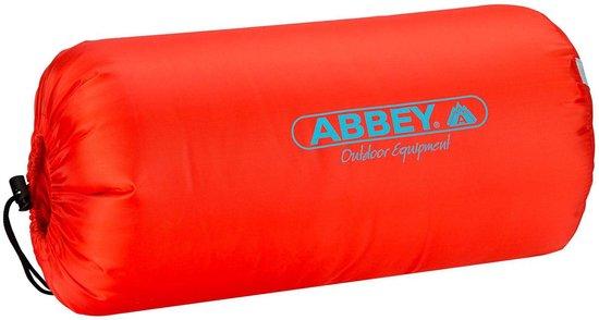 Abbey Camp Slaapzak - Zomer - Rood/Grijs - 200 x 75 cm