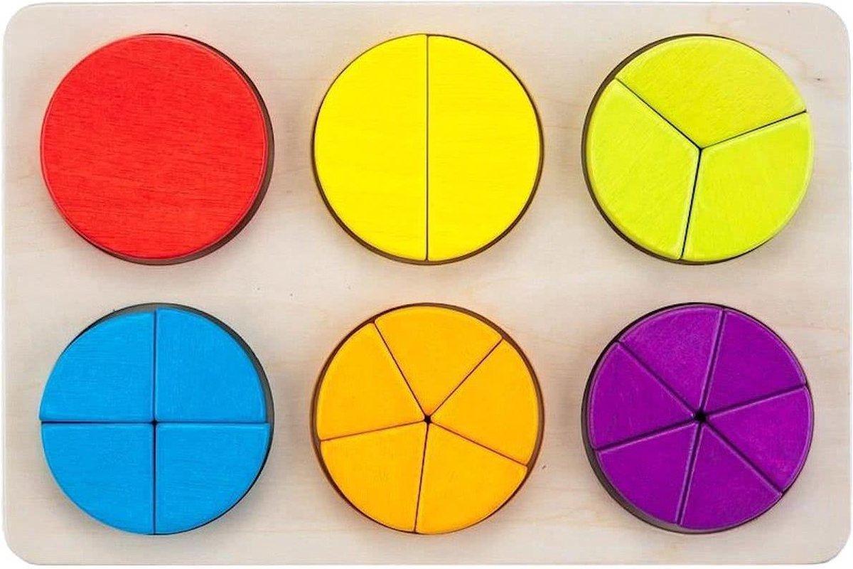 Engelhart leerspel ronde vorm op kleur 21 cm | Blokker
