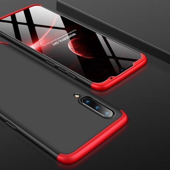 Mobigear 360 Hardcase Zwart / Rood Xiaomi Mi 9