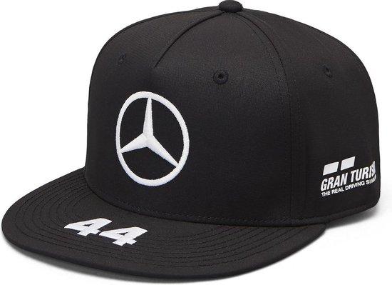 Mercedes AMG Mercedes Team Lewis Hamilton Driver Flatbrim Cap