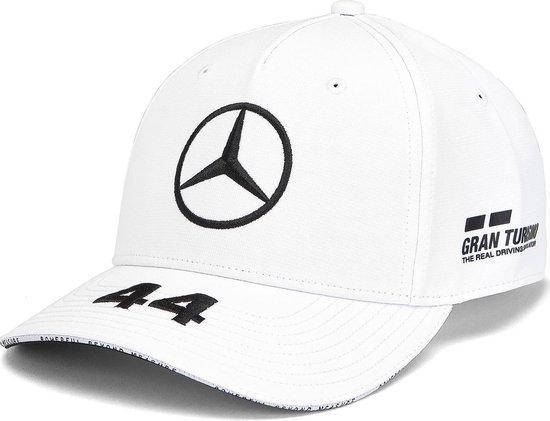 Mercedes AMG Mercedes Team Lewis Hamilton Driver Baseball Cap - ronde klep