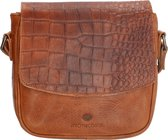 Micmacbags Everglades crossbody tas - Cognac