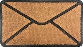 Esschert Design Deurmat Envelope rubber RB175