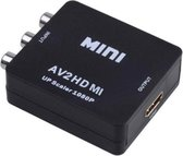 Dolphix Tulp Composiet AV naar HDMI converter / zwart
