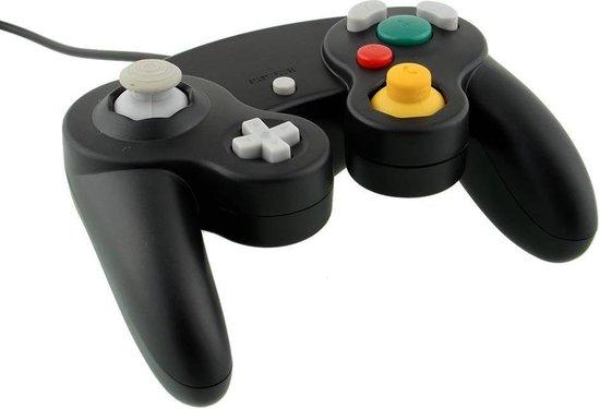 Dolphix Nintendo GameCube controller / zwart - 1,5 meter