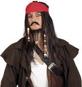 Piraten Pruik Set