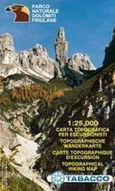 Tabacco Wandern 1 : 25 000 Parco Naturale Dolomiti Friulane