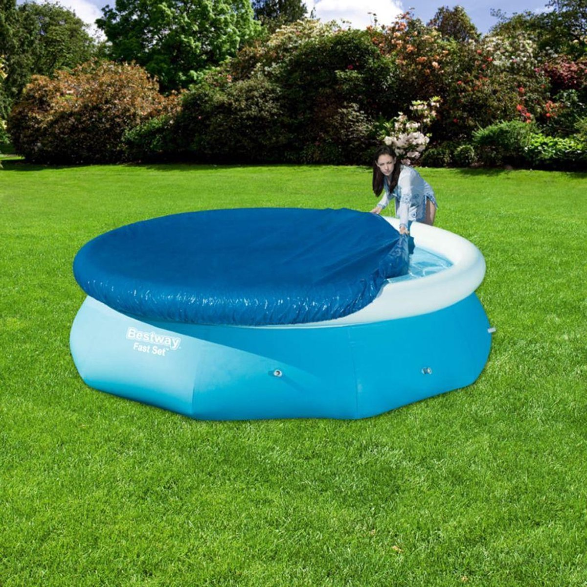 Zwembad afdekhoes - Ø 305 cm