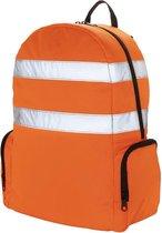 Toolpack Gereedschapsrugzak met hoge zichtbaarheid Glance oranje en zwart